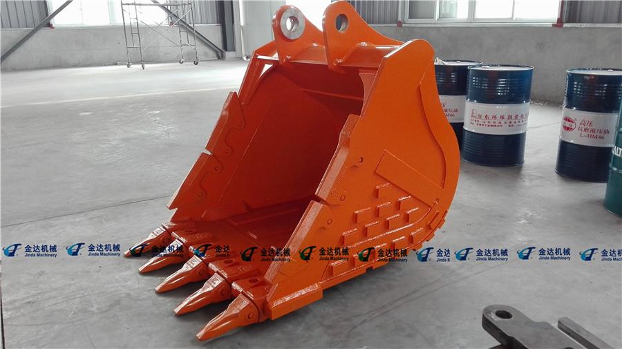 hitachi Rock bucket with NM400+Q345B materials